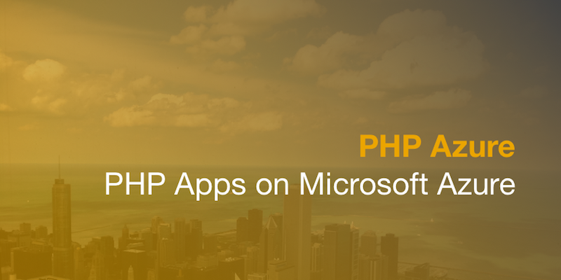 PHP Azure training course