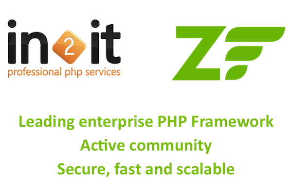 3 reasons to choose for in2it Zend Framework services