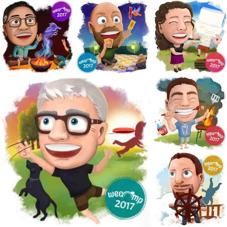 WeCamp 2017 Coaches by MvanderWees