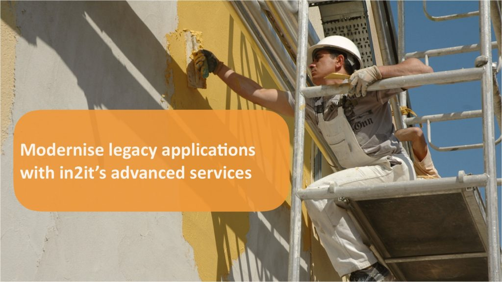 In2it modernises existing applications