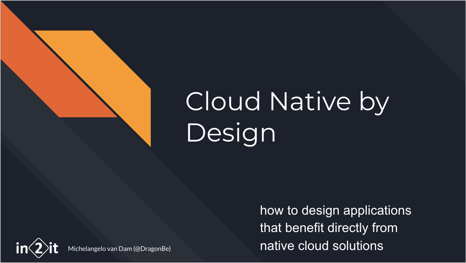Cloud Native by Design
