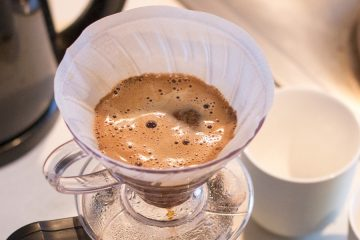 Filtering coffee for best taste
